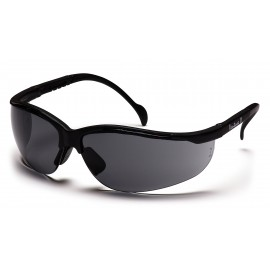 Pyramex Safety - Venture II - Black Frame/Gray Lens Polycarbonate Safety Glasses - 12 / BX