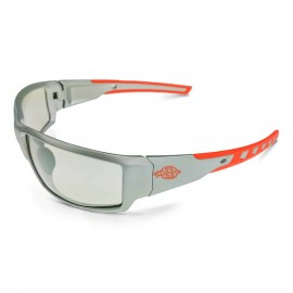 Radians Crossfire Cumulus IO, Silver Frame Safety Glasses 12 PR/Box