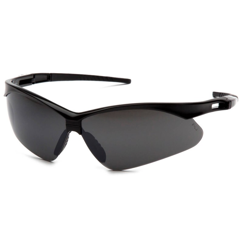 91c9d4c7028a More Views. Pyramex Safety - PMXtreme - Black frame smoke green mirror with  cord Polycarbonate Safety Glasses