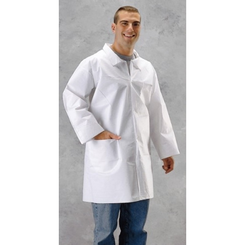 Lakeland CTL101 MicroMax NS Lab Coat - 2-Pocket 30/Case