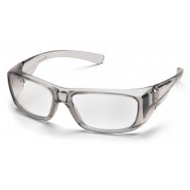 Pyramex  Emerge  Gray Frame/Cler +2.0 Lens  Safety Glasses  6 /BX