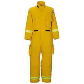 Lakeland Indura Cotton OSX Wildland Fire Jumpsuit  LazerMax  Yellow