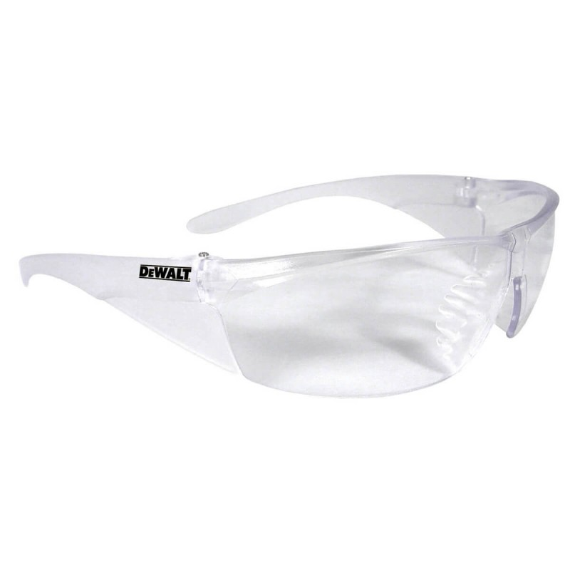 DEWALT Structure - Clear Lens Safety Glasses Frameless Style Clear Color - 12 Pairs / Box