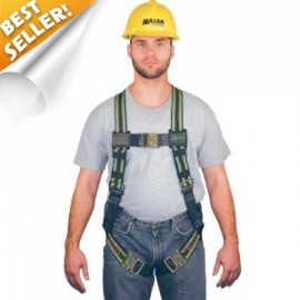 Honeywell Miller 650QC-UGN DuraFlex Ultra Harness with Back D-Ring