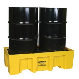 Two Drum Spill Containment Pallet