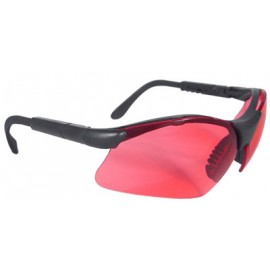 Revelation Safety Glasses with Vermillion Lens