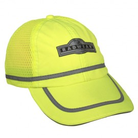 Mesh Panel High Visibility Baseball Cap