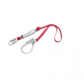 Protecta PRO PACK 6' Shock Absorbing Lanyard with Rebar Hook