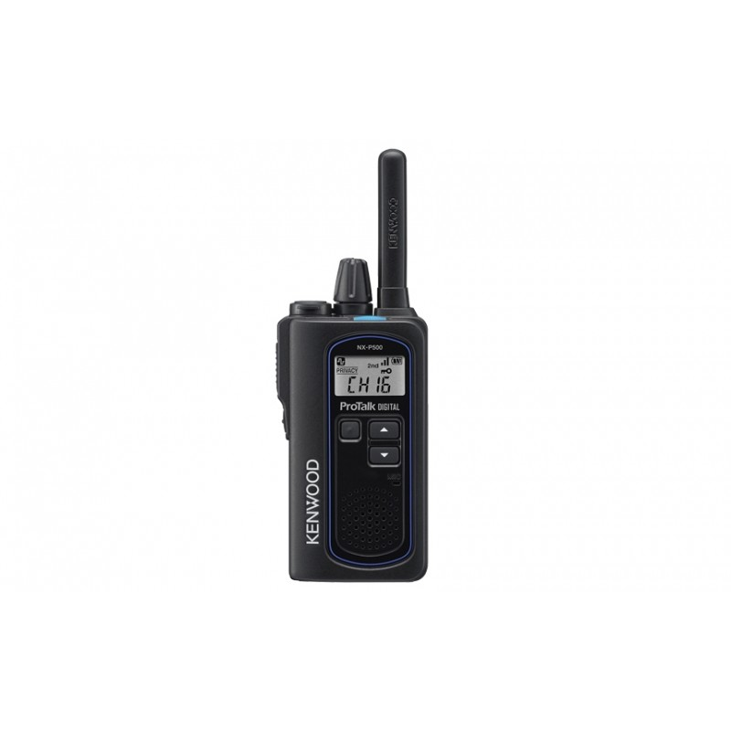 Kenwood NX-P500 2-Watt dual mode Digital/Analog 6 Channel -UHF Portable Radio