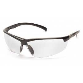 Pyramex  Forum  Black Frame/Clear Lens  Safety Glasses  12/BX
