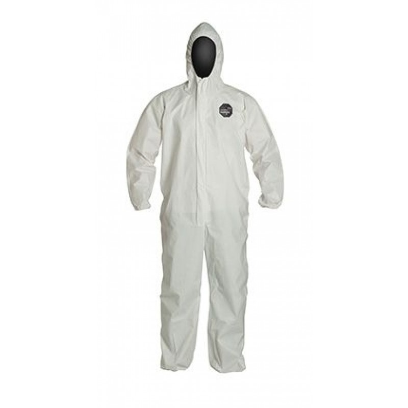 DuPont™ ProShield® 60 NG127S WH Hooded Coverall 25/Case