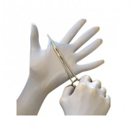 Ansell N80 Nitrile Exam Gloves - 5.5 Mil White