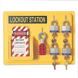 Honeywell LSE104F Yellow Complete Lockout Station