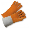 West Chester 9401 Select Cowhide 14' Russet/Gray Welder Gloves 1/DZ