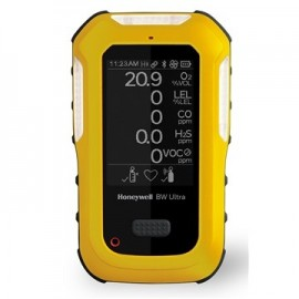 Honeywell BW™ HU‑X1W1H1M1C1‑Y‑N Ultra 5-gas detector (O2, LEL, H2S, CO, Cl2)