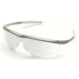 Tremor Safety Glasses with Taupe Frame and Indoor/Outdoor Lens (12 PR)