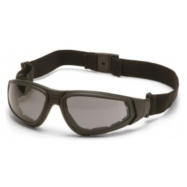 Pyramex  XSG  Black Frame/Gray Anti Fog Lens Polycarbonate Safety Glasses  12 / BX