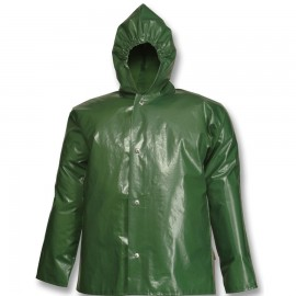Tingley J22168.5X Iron Eagle Jacket Green Storm Fly Front Attached Hood