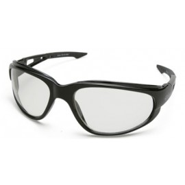 Edge Dakura Safety Glasses with Clear Anti-Fog Lens