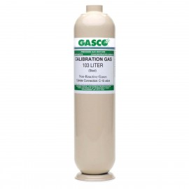 GASCO 103 Liter Methane 50% LEL Calibration Gas, 2.5% vol., Air