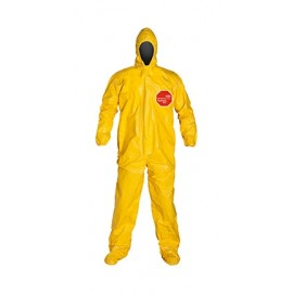 DuPont™ Tychem® 2000 QC122T YL Coveralls 4/Case