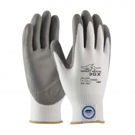 PIP 19-D322V/XS G-Tek Seamless Knit Dyneema Diamond Blended Glove with Polyurethane Coated Smooth Grip on Palm & Fingers Vend Ready XS 72 PR