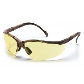 Pyramex Safety - Venture II - Real Tree HW Frame/Amber Lens Polycarbonate Safety Glasses - 12 / BX