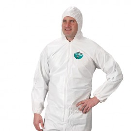 Lakeland CTL414 MicroMax Coverall with Attached Hood, Boots and Elastic Wrists ( 1 Each)