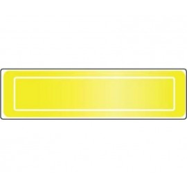 NMC Lime/Yellow Reflective Strip 1X4 16/Strips