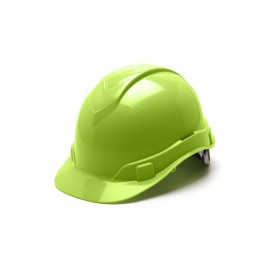 Pyramex HP44131 Ridgeline Hard Hat  Lime Color - 16 / CS