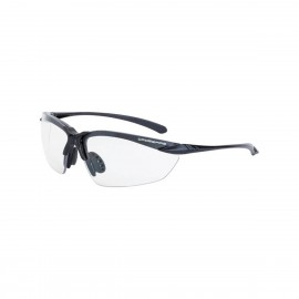 Radians Sniper Clear Matte Black Frame Safety Glasses 12 PR/Box