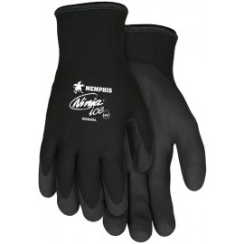 MCR Ninja Ice Nylon Winter Gloves 1 Pair - Color Black
