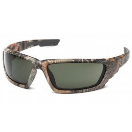 Venture Gear  Brevard  Cammo Frame/ Forest gray AntiFog Lens  Safety Glasses  1 / EA