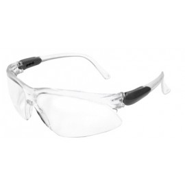 Jackson Safety Visio Safety Glasses with 1236 Temple and Clear Lens 12 Pairs