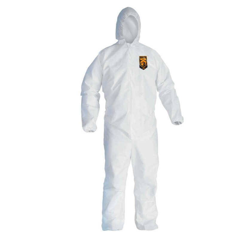 Kimberly Clark 41505 Kleenguard™ A45 Liquid & Particle Protection Surface Prep & Paint Apparel 25/Case Large
