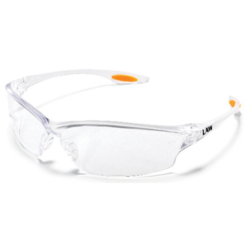 MCR Law2 Safety Glasses Clear Lens 1/DZ
