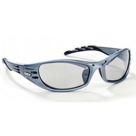 3M™ Fuel™ Protective Eyewear 11642-00000-10 Indoor/Outdoor Mirror Lens, Blue Frame