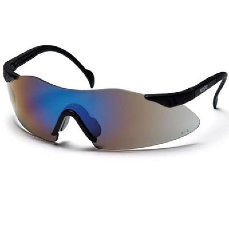 Intrepid Safety Glass - Blue Mirror Lens