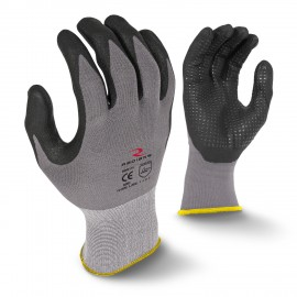 Radians RWG11 Work Gloves, Microdot Foam Nitrile Gripper (1 DZ)