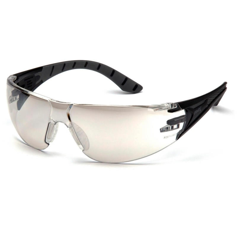 Pyramex Safety - Endeavor Plus - Black-Gray Frame/Indoor-Outdoor Mirror Lens Polycarbonate Safety Glasses - 12 / BX