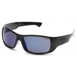 Pyramex  Furix  Black Frame/Blue Mirror AntiFog  Safety Glasses  12/BX
