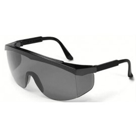 MCR Stratos Safety Glasses  Grey Lens