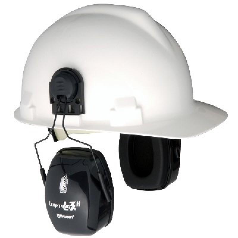 Bilsom Leightning L3H Cap-Mount Hard Hat