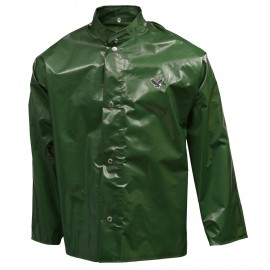 Tingley J22208.MD Iron Eagle Jacket Green Storm Fly Front Hood Snaps
