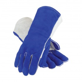 Side Split Leather with Foam Liner & Kevlar® Stitching Welder's Glove (LARGE)