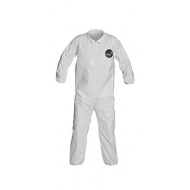 DuPont™ ProShield 50 NB125S Microporous Film Coveralls White 1/EA