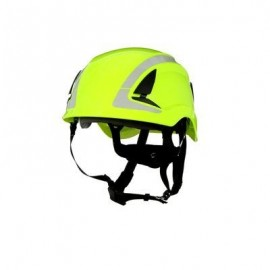 3M™ SecureFit™ Safety Helmet, X5014VX-ANSI,  HVGreen, vented (Case of 4)