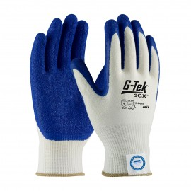 PIP 19-D315/L G-Tek Seamless Knit Dyneema Diamond Blended Glove with Latex Coated Crinkle Grip on Palm & Fingers Light Weight Large 6 DZ