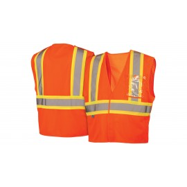 Pyramex Lumen X Hi-Vis Orange With 5 Point Break - Size Large