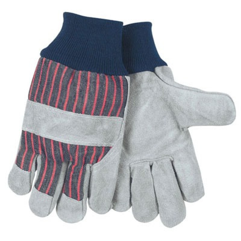Gunn Leather Palm Gloves with Knuckle Strap 12 Pairs